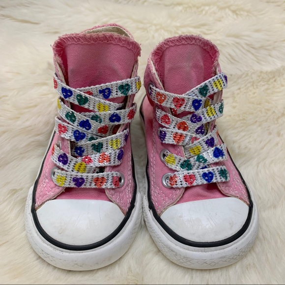 1efbf1944c71 Converse Other - Converse Chuck Taylor All Star Pink Baby Hi Tops